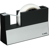 CARL Tape Dispenser [CTS-3000] - Black - Tempat Selotip / Tape Dispenser
